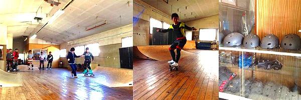 トレジャーサーフのスケートボード体験