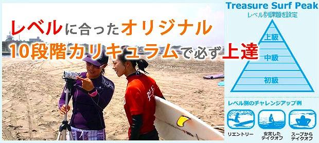 レベルに合ったオリジナルカリキュラムで千葉九十九里でサーフィンが上達します
